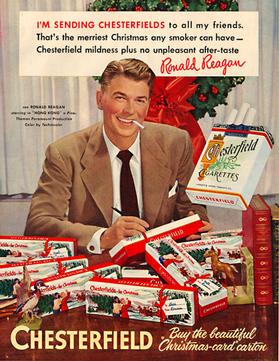 Reagan Smokes for Xmas