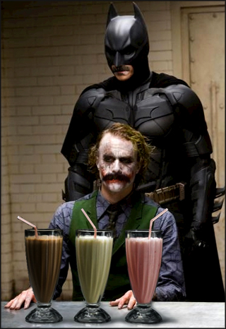 Why So Serious Milkshake?