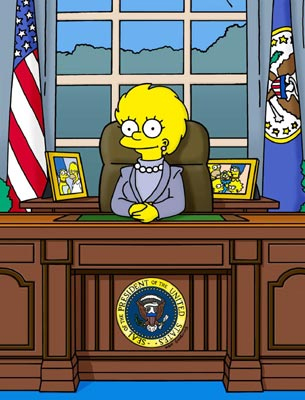 President Lisa Simpson
