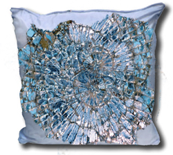 Broken Mirrors Pillow