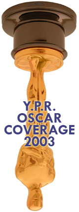 Oscar Coverage 2003