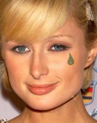 P. Hilton (w/ Teardrop Tattoo)