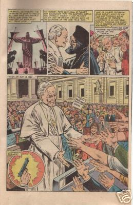 Meanwhile, in Vatican City . . .