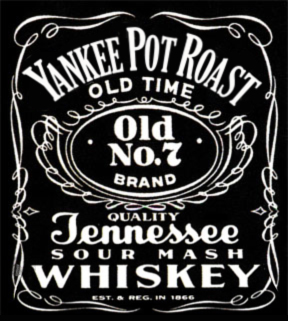 Old-Time No. 7 Tennessee Sour Mash Logo